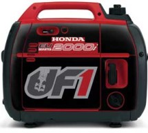 Official UF1 Honda Generator Decal