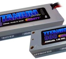Trinity Titanium Racing Li-Po Battery Packs