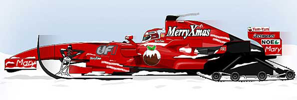 Merry Christmas from the UF1 Committee!