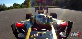 Video: Lotus E20 F1 with Realistic Driver